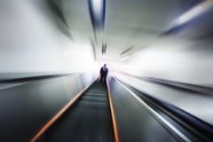 Intérieur de mouvement brouillé par abstrait Photographie stock