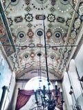 Intérieur de synagogue Photographie stock