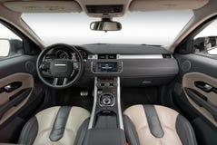 Intérieur de voiture Images libres de droits