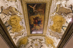 Intérieurs de Palazzo Barberini, Rome, Italie Photos stock