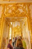 Intérieurs de Tsarskoe Selo Photographie stock