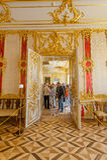 Intérieurs de Tsarskoe Selo Photo stock