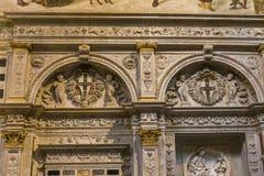 Intérieurs et détails de cathédrale de Sienne, Sienne, Italie Photo libre de droits