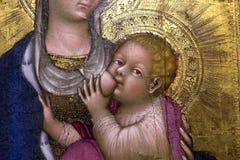 Intérieurs et détails de cathédrale de Sienne, Sienne, Italie Photos stock