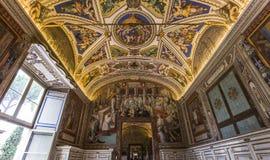Intérieurs et détails du musée de Vatican, Ville du Vatican Photos libres de droits