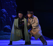 """Intriger och intrig-Peking opera som """"Taking Tiger Montain By Strategyâ € Royaltyfri Fotografi"""