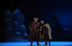 """Intriger och intrig-Peking opera som """"Taking Tiger Montain By Strategyâ € Fotografering för Bildbyråer"""