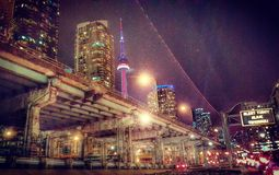 Intrigo di Toronto Fotografia Stock