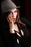 Intriguing woman Royalty Free Stock Photos