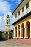 InTrinidad pavé en cailloutis de rues au Cuba Photographie stock libre de droits