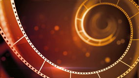 Intro of moive filmstrip. As background video vector illustration