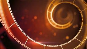Intro van moive filmstrip vector illustratie
