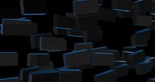 Introdução da destruição da parede para seu vídeo video estoque
