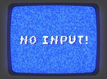 Introducción de la pantalla azul de VHS libre illustration