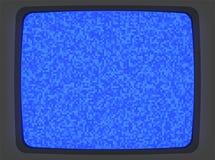 Introducción de la pantalla azul de VHS stock de ilustración
