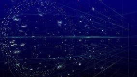 Introducción futurista ilustración del vector