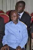 Introducing condolences to the family of President Laurent Gbagbo Royalty Free Stock Photography