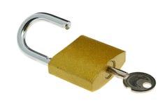introduisez le blocage ouvert images libres de droits