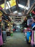 Introduzindo no mercado 100 anos em Chachoengsao, Tailândia Foto de Stock Royalty Free