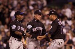 2000 introduzioni di campionato di baseball Fotografia Stock