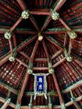 Introspecção de um pavilhão muito velho no jinci fotografia de stock royalty free
