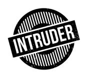 Intruder rubber stamp. Grunge design with dust scratches. Effects can be easily removed for a clean, crisp look. Color is easily changed Stock Photography