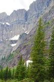 Intrusão metamórfica no parque nacional de geleira Imagens de Stock