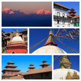 Intryck av Nepal royaltyfri bild