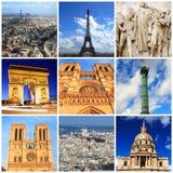 Intryck av Paris Arkivbilder