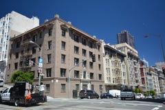 Intryck från San Francisco, Kalifornien USA Arkivfoton