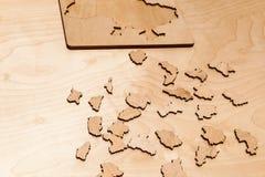 intryguje drewnianego zdjęcia royalty free