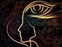 intuition royaltyfri illustrationer