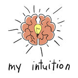 Intuition abstract concept Stock Photo