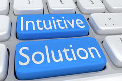 Intuitive Solution concept Stock Images