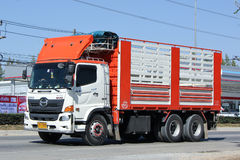 Intymna ładunek ciężarówka Fotografia Royalty Free