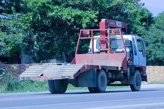 Intymna ciężarówka z żurawiem Zdjęcie Royalty Free
