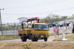 Intymna ciężarówka z żurawiem Obrazy Stock