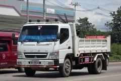 Intymna Mitsubishi Fuso usypu ciężarówka zdjęcia royalty free