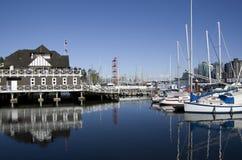 Intymnego przyjęcia łodzi klubu nabrzeże Obrazy Royalty Free