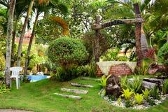 Intymnej siedziby VIP kurort życzy dobrze w Negros orientale, Filipiny obrazy royalty free