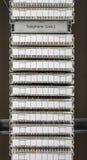 Intymny Automatyczny Gałęziastej wymiany telefoniczny system Zdjęcie Stock