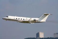 intymny dżetowy samolot Zdjęcie Stock