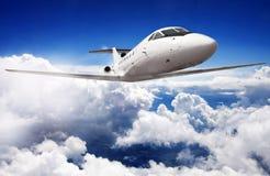 Intymny dżetowy samolot obrazy stock