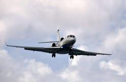 Intymny dżetowy samolot Zdjęcia Royalty Free