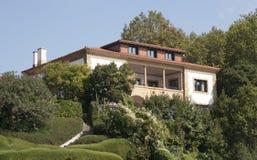 Intymny dom w Getxo, Bilbao Hiszpania Obraz Stock