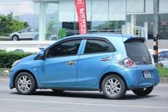 Intymny eco samochód, Honda Brio Obraz Royalty Free
