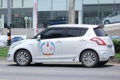 Intymny Eco samochód, Suzuki jerzyk Fotografia Stock