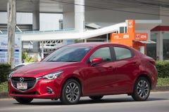 Intymny Eco samochodowy Mazda 2 Obrazy Stock