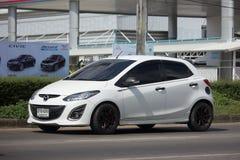 Intymny Eco samochodowy Mazda 2 Fotografia Royalty Free