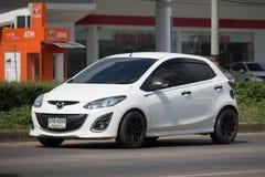 Intymny Eco samochodowy Mazda 2 Zdjęcia Stock